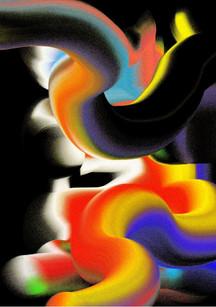 Deep Chasm by Cornelia Van Rijswijk