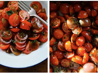 TWO GREAT WAYS TO EAT TOMATOES