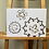 Thumbnail: 'Storm Cogs' [Original Ink Drawing by Frances Sladen] + Storm Cogs