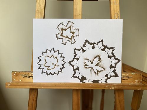 'Storm Cogs' [Original Ink Drawing by Frances Sladen] + Storm Cogs