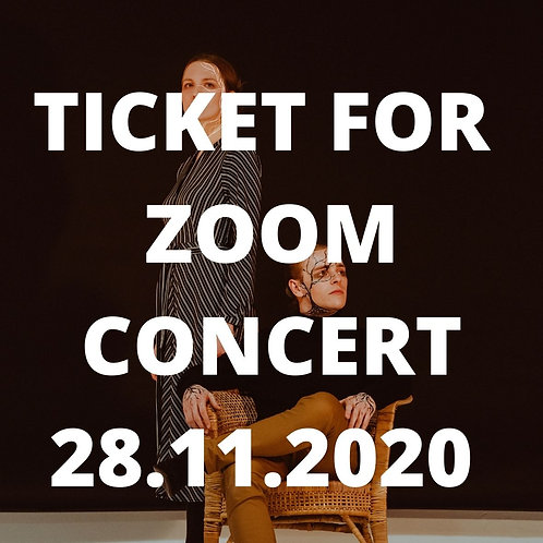TICKET FOR 28.11.2020