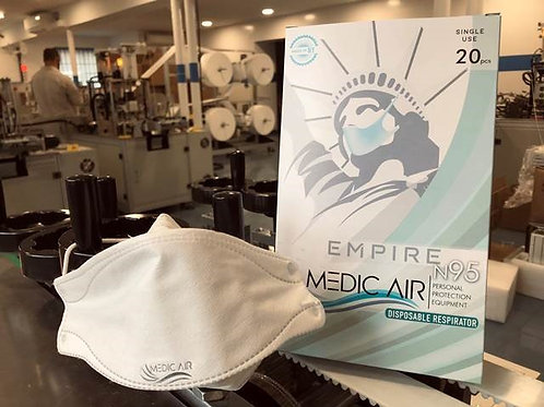 Made in USA - N95 Respirator - 920 count