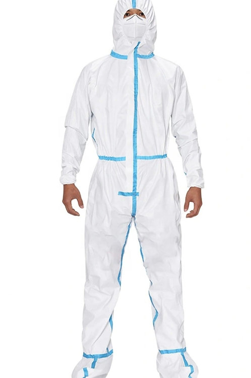 Coverall, Fluid Proof, 10 count