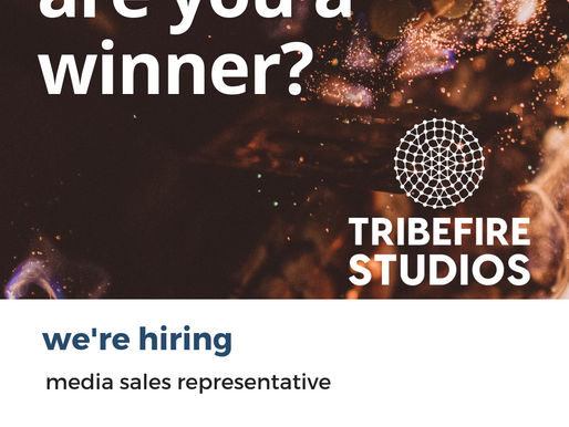 Media Sales Representative: Closing 7th December 2018