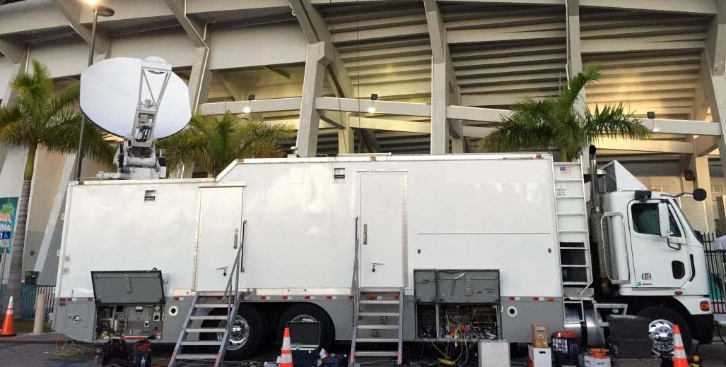 HD TV Truck & KU Uplink Combo