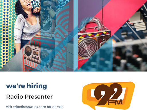 Radio Personality: Closing 15th February
