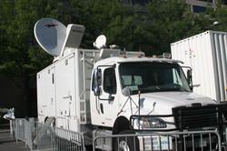 KU Satellite Truck