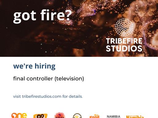 Final Control Operator (Television): Closing 15th November 2019
