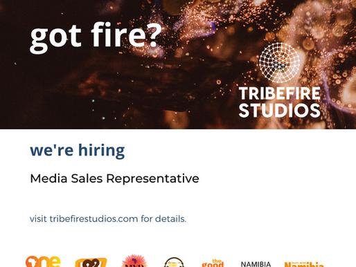 Media Sales Representative: Closing 15th November 2019