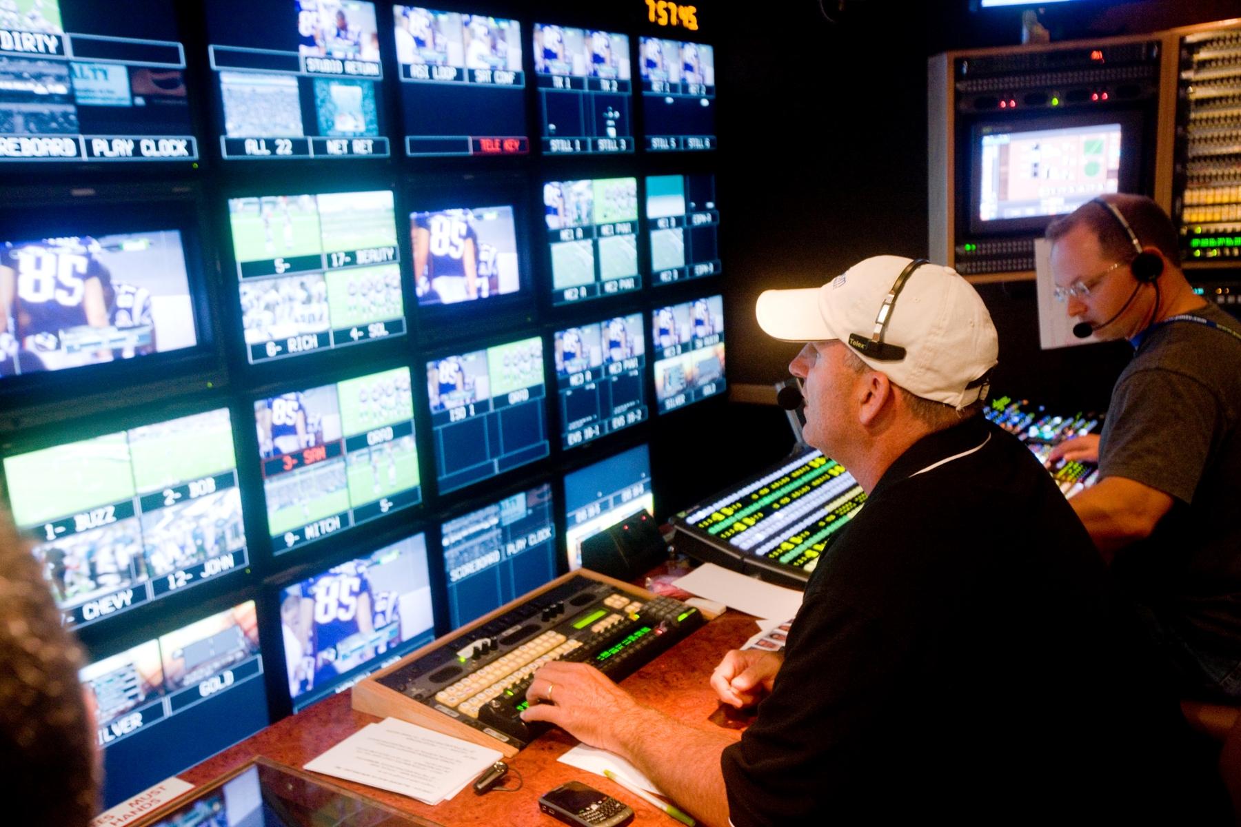TV Crew Director