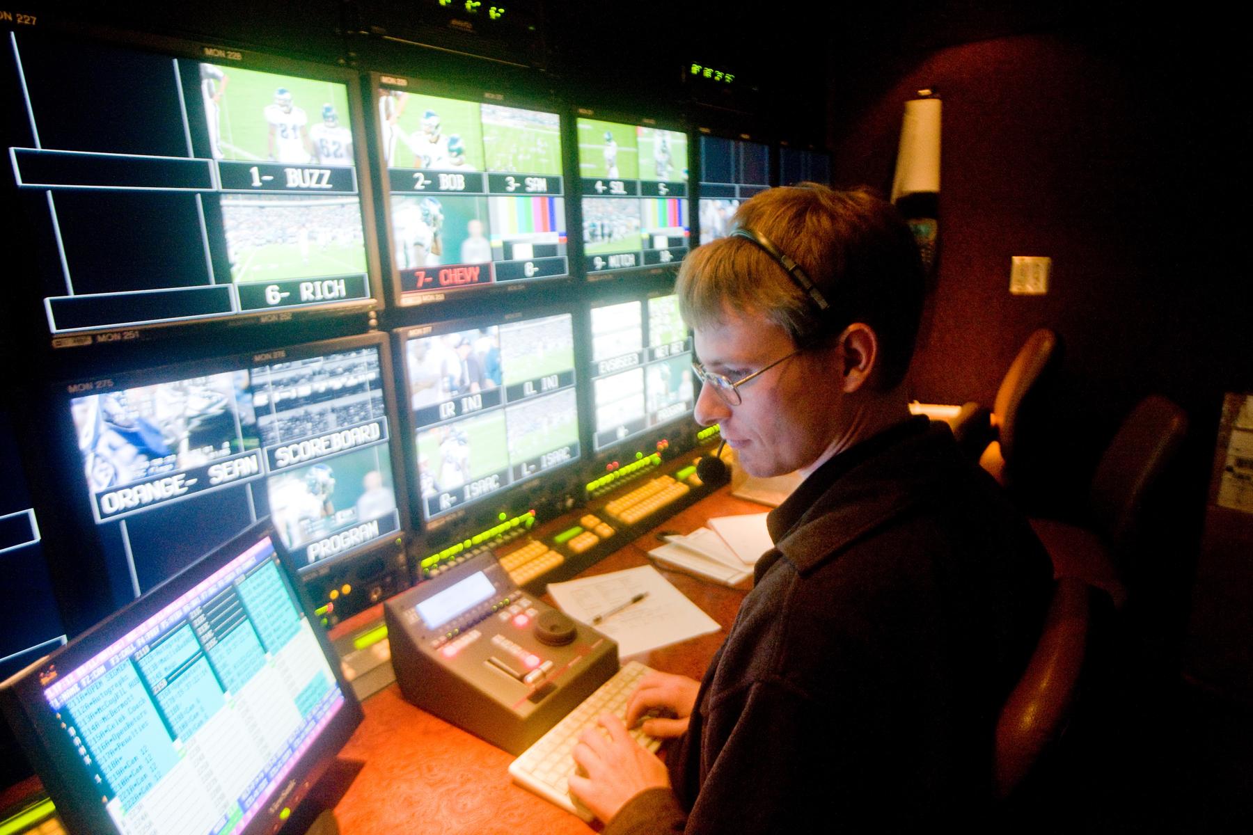 TV Crew EVS Op