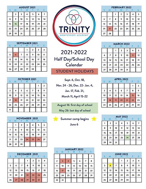 Half-daySchool-day Calendar 2021-2022.png