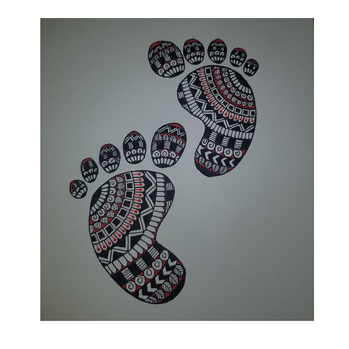Lil baby's feet