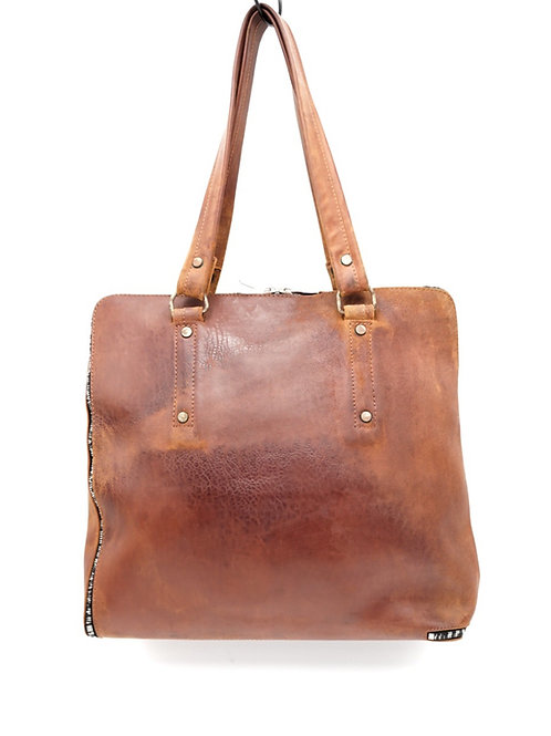 ONEPIECE TOTE BAG / NAKED CORDOVAN /
