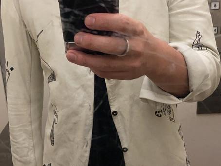 leather shirt in Kangaroo