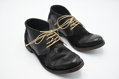 CLASSIC TECTA DERBY SHOES / 42 / SHRUNKEN HORSE BUTT
