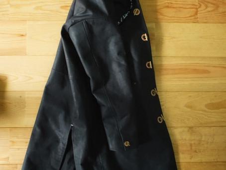 overcoat in nicolas black