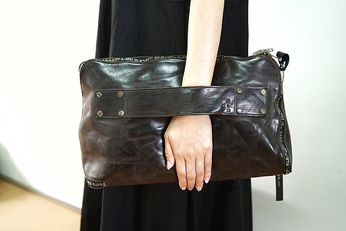 SAMPLE SALE item  / グイディクラッタ  (GUIDI CULATTA) / DARK GRAY / ONEPIECE CLUTCH BAG