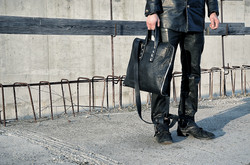one piece leather bag