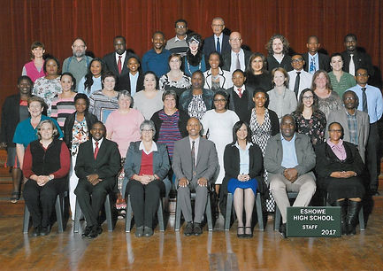 Eshowe High School teaching staff