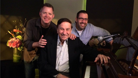 The guys with Disney Legend Richard Sherman (Mary Poppins)