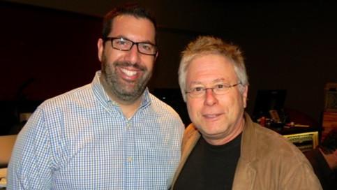 Chris with 8 time Oscar-winner Alan Menken
