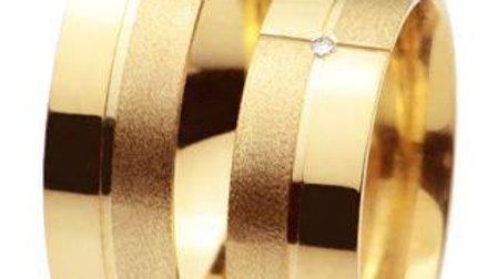 Aliança de ouro 18 k 750 ,valor unitário