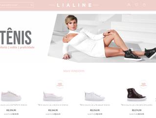LIA LINE inaugura loja virtual para se aproximar ainda mais de sua consumidora