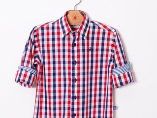 Breda Kids: camisas xadrez para um arraiá #emcasa