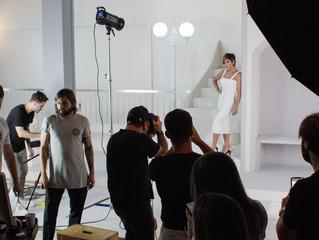 Making Of: Lia Line Calçados fotografa campanha com Flávia Alessandra
