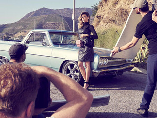 Rafitthy fotografa campanha com Fernanda Lima em Los Angeles