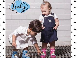 PRIMEIROS PASSOS PROTEGIDOS: Gasf aposta em linha de galochas baby