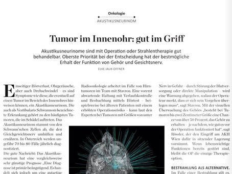 Tumor in Innenohr: Operation versus Bestrahlung