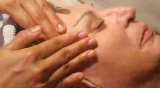 Facial muscles exercise