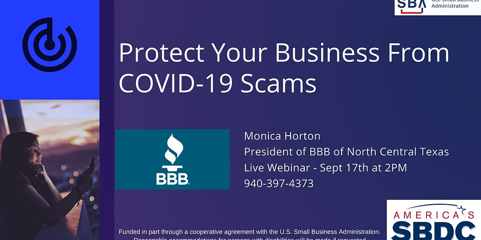 Protect Your Business From COVID-19 Scams