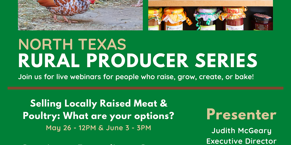 Selling Locally Raised Meat & Poultry: What are your options?