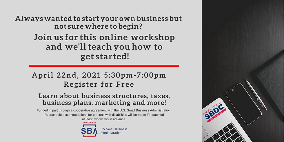 Introduction to Business Ownership (Webinar)