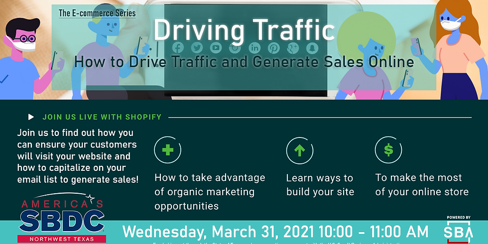 eCommerce: How to Drive Traffic and Generate Sales Online