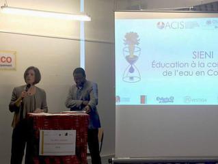 Premio especial Diáspora y Desarrollo 2016 en FEDEVACO.