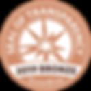 GuideStar Seal of Transparency - 2019 Bronze
