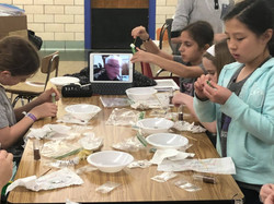 The Mentor Project visits Girl Scout