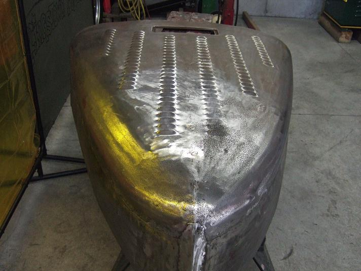 Willys Hood Louvered