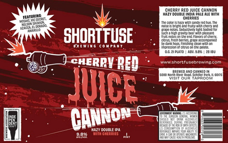Cherry Red Juice Cannon