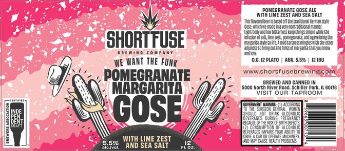 Pomegranate Margarita Gose