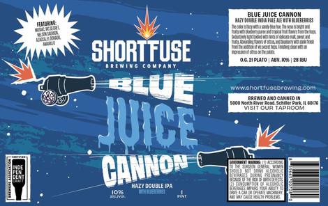 Blue Juice Cannon