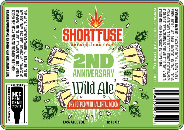 2nd Anniversary Dry Hopped Wild Ale