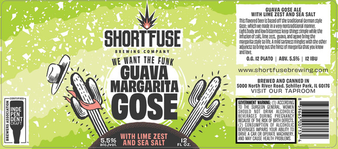 Guava Maragarita Gose