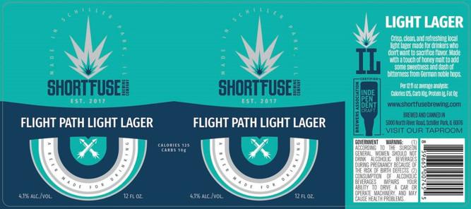 Flight Path Light Lager