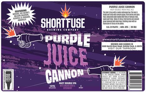 Purple Juice Cannon