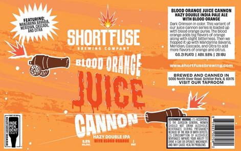 Blood Orange Juice Cannon